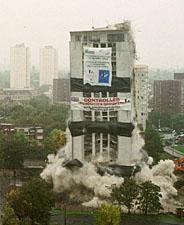 Barrie house domlition