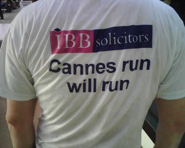 Cannes run will run